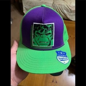 Marvel snap back hats
